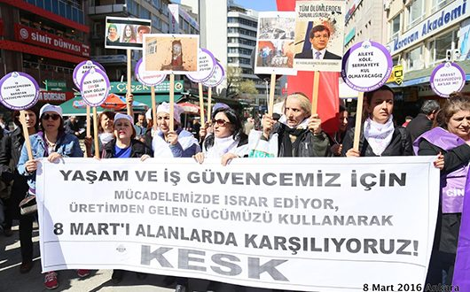 KESK-DİSK-TMMOB'Lİ KADINLAR SAKARYA'DAYDI !