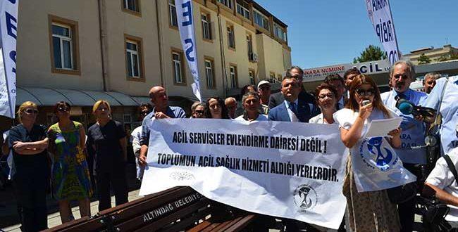 ACİL SERVİSLER EVLENDİRME DAİRESİ DEĞİL!