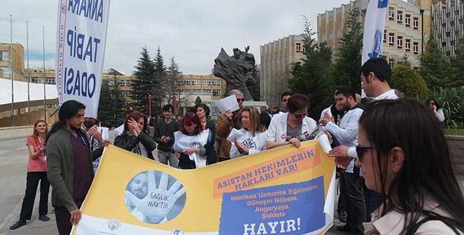 ASİSTAN HEKİMLERİN HAKLARI VAR !
