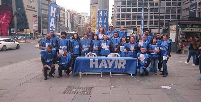 """KAMU EMEKÇİLERİ REFERANDUMDA """"HAYIR"""" DİYOR"""