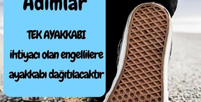 """İHTİYAÇ SAHİBİ ENGELLİLERE """"TEK AYAKKABI"""" ULAŞTIRIYORUZ !"""