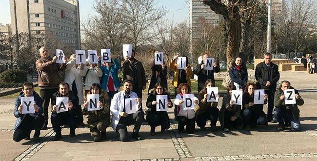 """HACETTEPE SES ÜYELERİ : """"TTB'nin YANINDAYIZ !"""""""