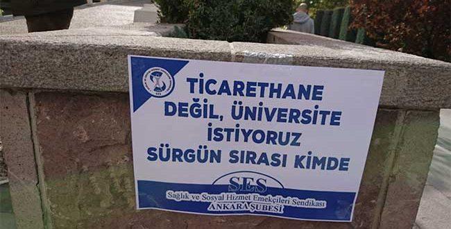 """H.Ü SES TEMSİLCİLİĞİ'NDEN SAĞLIK EMEKÇİLERİNE """"AÇIK MEKTUP"""""""