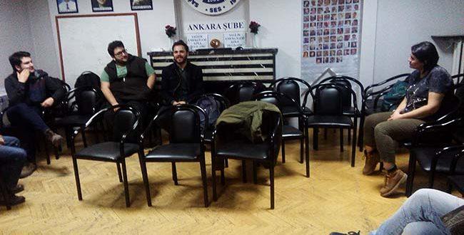 DAHA FİLMİ SES ANKARA ŞUBE'DE GÖSTERİLDİ