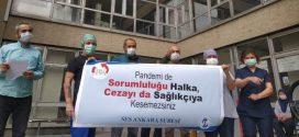 SES ANKARA ŞUBE'DEN İBNİ SİNA HASTANESİ'NDE BASIN AÇIKLAMASI