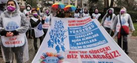 """KESK'İN İSTANBUL'DAN BAŞLATTIĞI """"İŞİMİ-ÇALIŞMA HAKKIMI İSTİYORUM"""" YÜRÜYÜŞÜ TAMAMLANDI"""